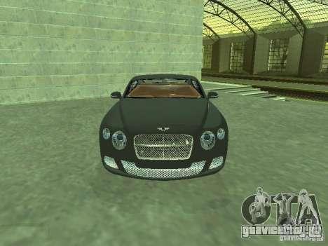 Bentley Continental GT 2010 V1.0 для GTA San Andreas