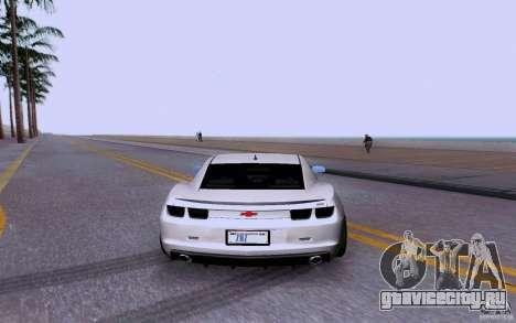 Chevrolet Camaro Super Sport 2012 для GTA San Andreas вид справа