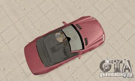 Mercedes-Benz SL500 (R230) для GTA San Andreas вид справа