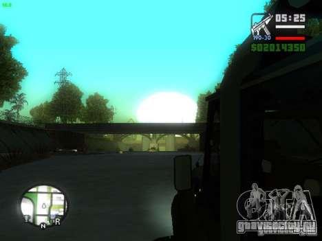 УАЗ Hunter для GTA San Andreas вид сзади