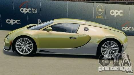Bugatti Veyron 16.4 Super Sport 2011 v1.0 [EPM] для GTA 4 вид слева
