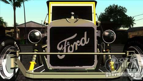Ford T 1927 Hot Rod для GTA San Andreas вид изнутри