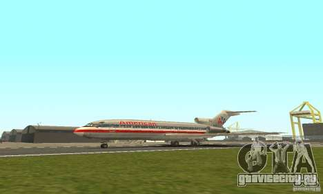 Boeing 727-100 American Airlines для GTA San Andreas