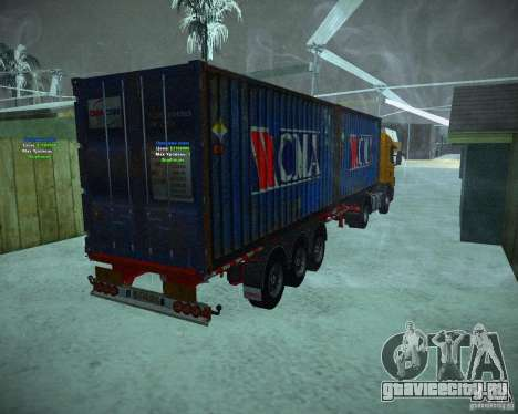 Container для GTA San Andreas