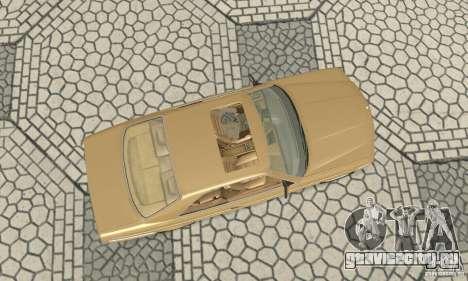 Mercedes-Benz W126 560SEC для GTA San Andreas вид справа