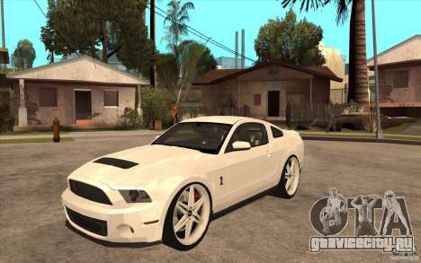 Ford Shelby GT500 для GTA San Andreas