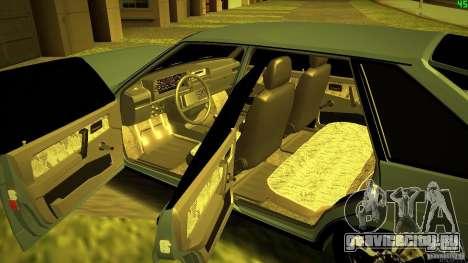 ВАЗ 2109 Light Tuning для GTA San Andreas вид сверху