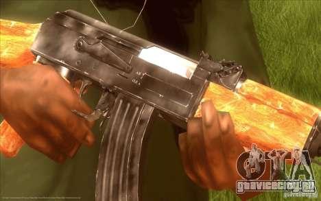 Автомат Калашникова HD для GTA San Andreas второй скриншот