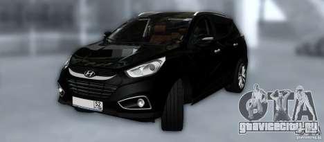 Hyundai ix35 для GTA San Andreas колёса
