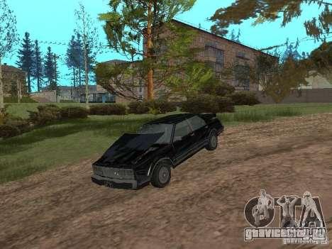 Такси Романа из GTA 4 для GTA San Andreas вид сзади