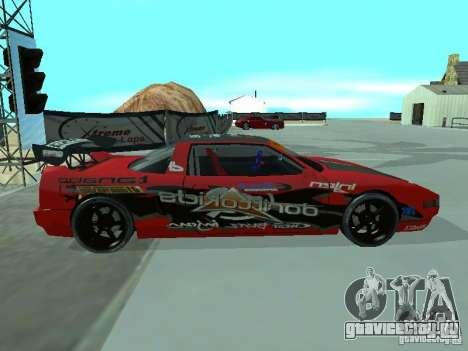 Infernus Drift Edition для GTA San Andreas вид слева