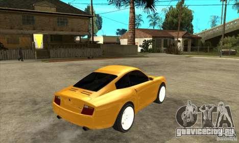 GTA IV Comet для GTA San Andreas вид справа