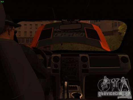 Ford F-150 SVT Raptor 2009 Final для GTA San Andreas вид сбоку