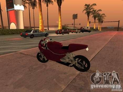 Turbine Superbike для GTA San Andreas вид слева