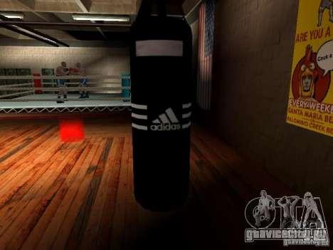 Новая боксерская груша для GTA San Andreas второй скриншот