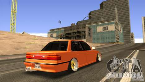 Honda Civic EF9 Sedan для GTA San Andreas вид сзади
