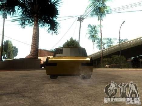 Москвич 412 Tuning для GTA San Andreas вид сзади слева