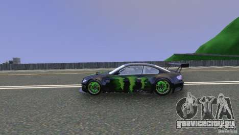 BMW M3 Monster Energy для GTA 4 вид слева