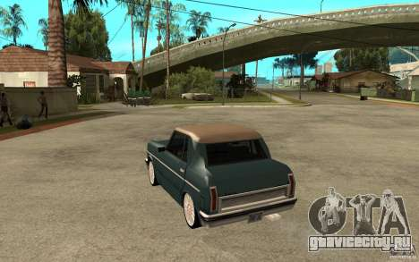 Perenial Coupe для GTA San Andreas вид сзади слева