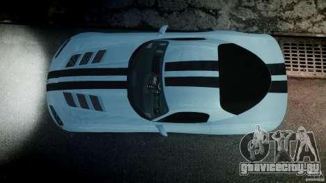 Dodge Viper SRT-10 для GTA 4 вид снизу