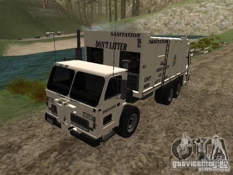 Мусоровоз из GTA 4 для GTA San Andreas