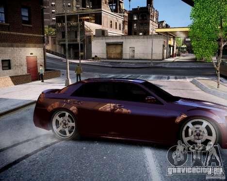 Chrysler 300 SRT8 DUB 2012 для GTA 4 вид изнутри