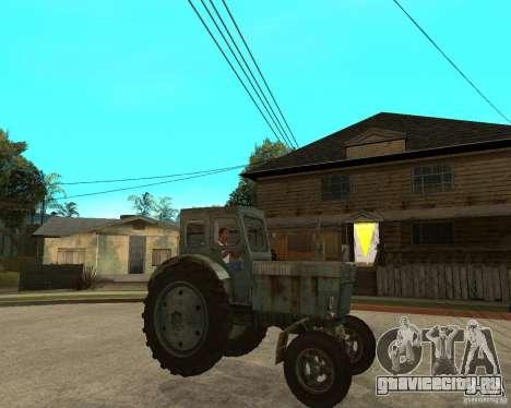 Трактор Т-40М для GTA San Andreas вид справа