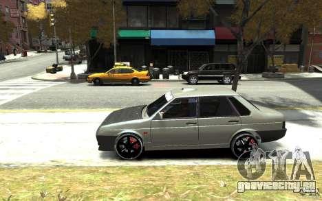 ВАЗ 21099 для GTA 4 вид слева