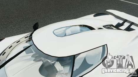Koenigsegg Agera R v2.0 [EPM] для GTA 4 двигатель