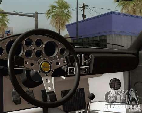 Ferrari 246 Dino GTS для GTA San Andreas салон