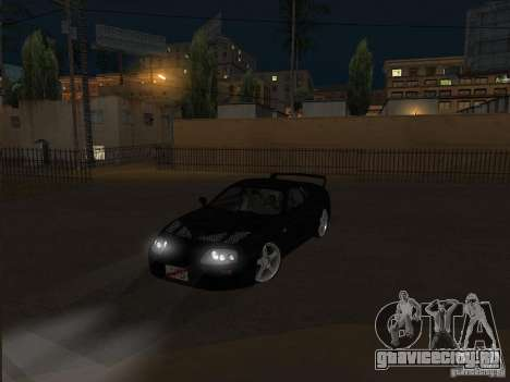 Toyota Supra MKIV для GTA San Andreas