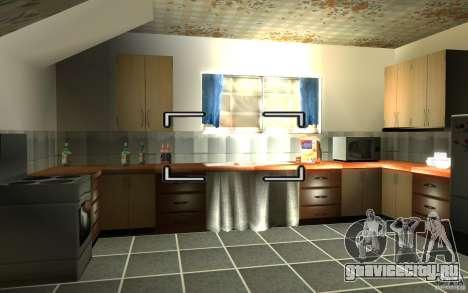 Русская хата сиджея для GTA San Andreas второй скриншот
