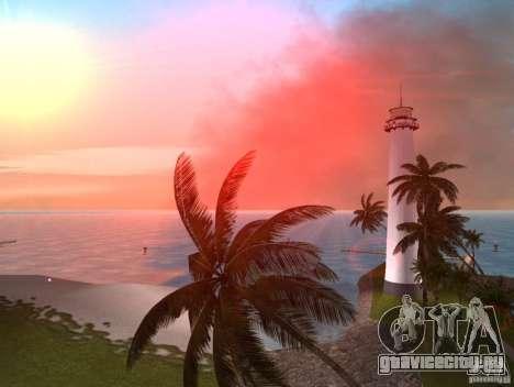 Vice City Real palms v1.1 Corrected для GTA Vice City