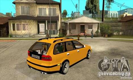Volvo V40 для GTA San Andreas вид справа