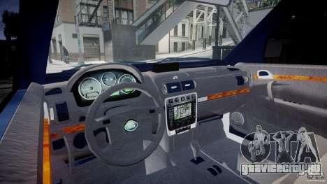 Range Rover Macedonian Police [ELS] для GTA 4 вид справа