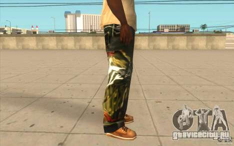 Hip-hop jeans для GTA San Andreas четвёртый скриншот