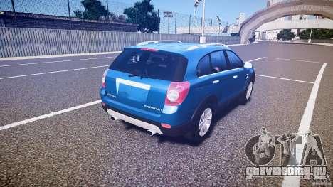 Chevrolet Captiva 2010 Final для GTA 4 вид сверху