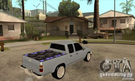 Toyota Hilux Surf v2.0 для GTA San Andreas вид справа