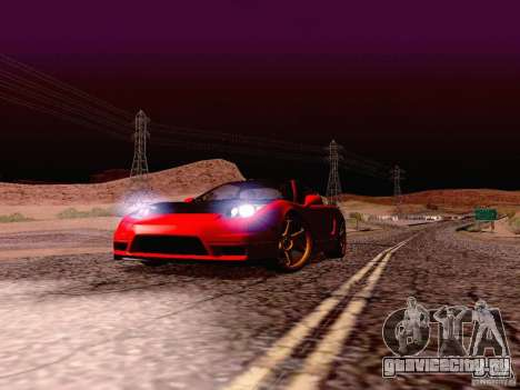 Acura NSX Stance Works для GTA San Andreas