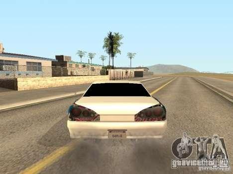 Elegy by Foresto_O для GTA San Andreas вид сбоку