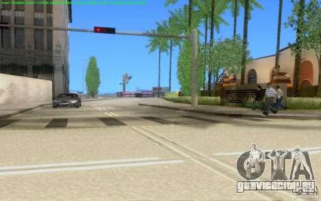 Бетонные дороги Лос-Сантос Beta для GTA San Andreas девятый скриншот