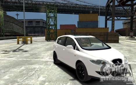 Seat Toledo для GTA 4 вид сзади