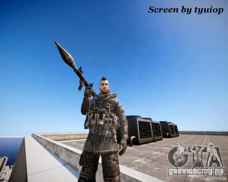 Modern Warfare 3 Soap Europe для GTA 4