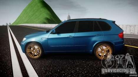 BMW X5 M-Power wheels V-spoke для GTA 4 вид слева