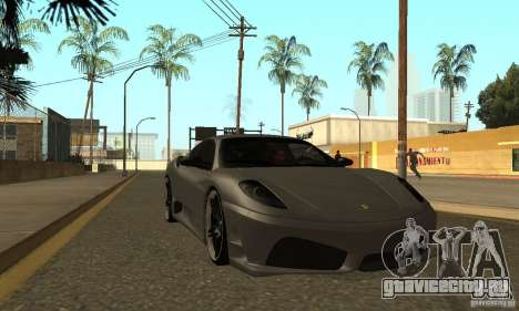 Ferrari 430 Scuderia Novitec для GTA San Andreas вид сзади