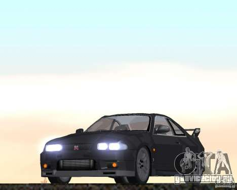 Nissan Skyline GT-R R-33 для GTA San Andreas