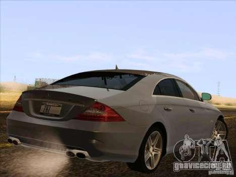 Mercedes-Benz CLS63 AMG для GTA San Andreas вид справа