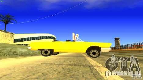 Crazy Taxi - B.D.Joe для GTA San Andreas вид слева