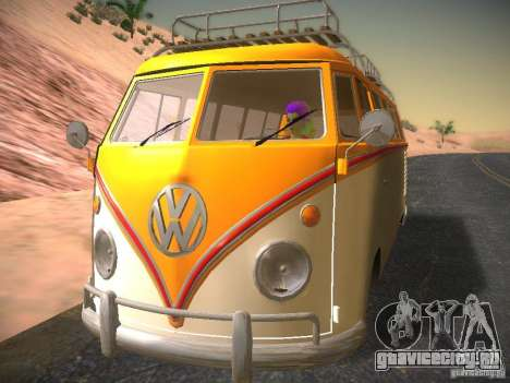 Volkswagen Type 2 Custom для GTA San Andreas