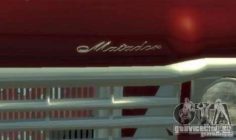 AMC Matador для GTA 4 вид сверху